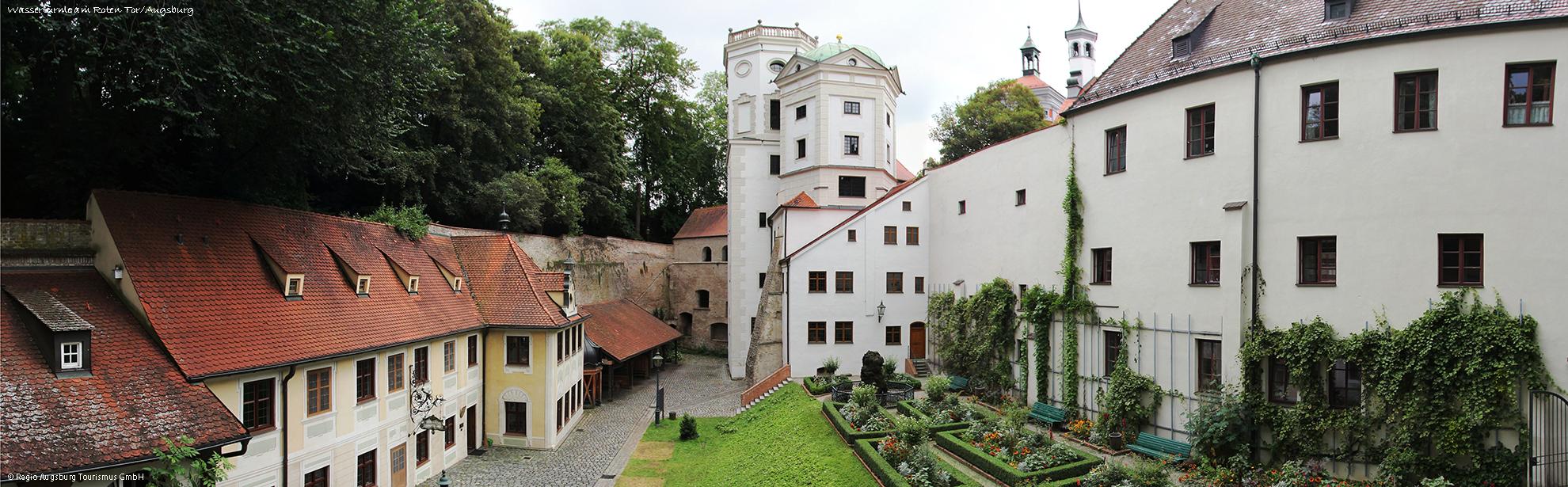 Oklass0134.0111_Regio-Augsburg-Tourismus_Wassertrme-Rotes-Tor_Augsburg